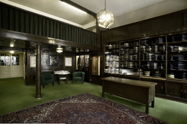 Quaint Interior at Knize - Turn of the Century Design