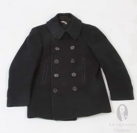 WWII Vintage Pea Coat