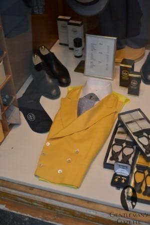 Yellow Morning Waistcoat