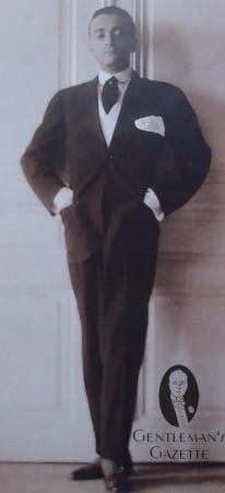 Young Ernst Deutsch-Dryden in Stresemann Suit