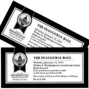 2013 inaugural ball tickets