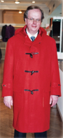 Bespoke Duffle Coat in Red by Richard Anderson