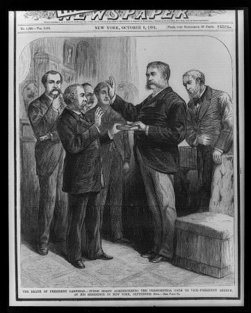 Chester Arthur Sep 20, 1881 in Stroller Suit with open quarters