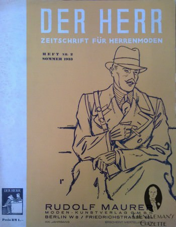 Der Herr Cover of the 1930's
