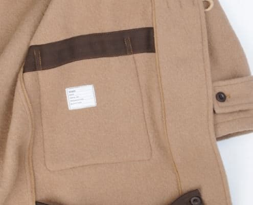 Duffle Coat with thigh straps