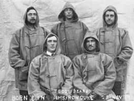 Duffle Coats abord HMS Iron Duke 1919