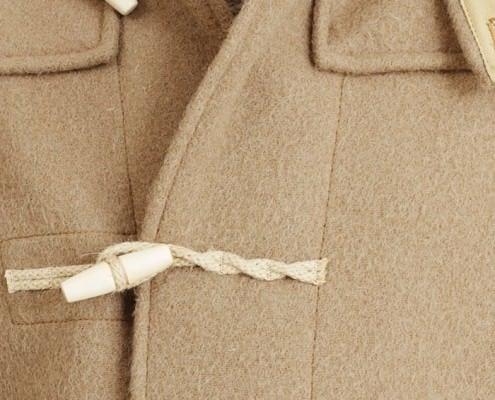 Hemp Rope & Wooden Toggles