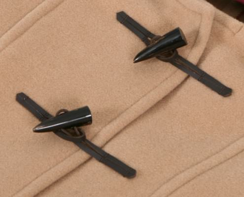 Leather & Horn Toggles