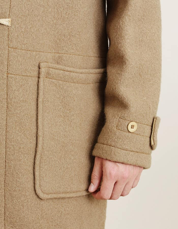 Patch Pockets & Wrist Tighteners on Monty Coat