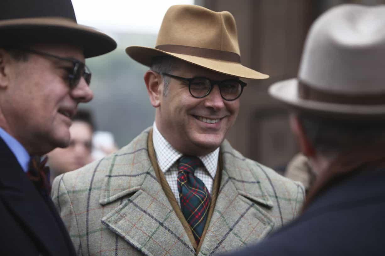 Pitti uomo 83 seasoned gentlemen gentleman 39 s gazette for Men a porter