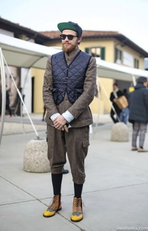 Plus Fours & Quilted Vest