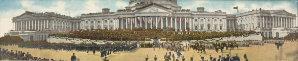 Roosevelt Inauguration Day in 1905