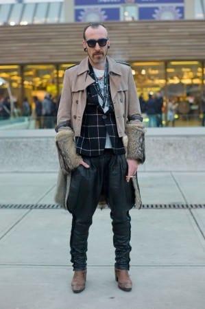 Snakeskin Pants & Fur