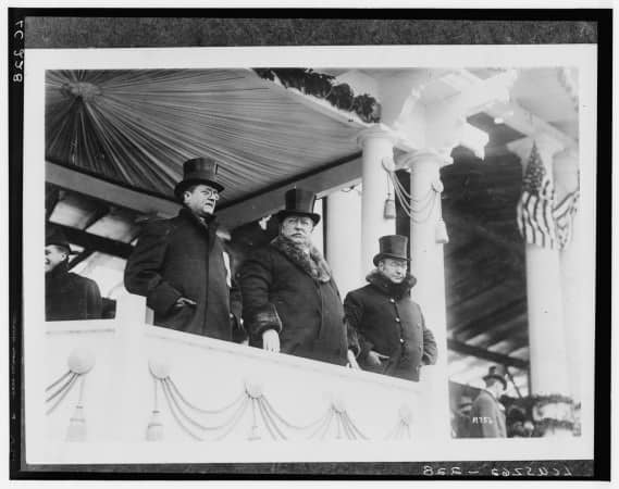 William Howard Taft Inauguration, March 4, 1909