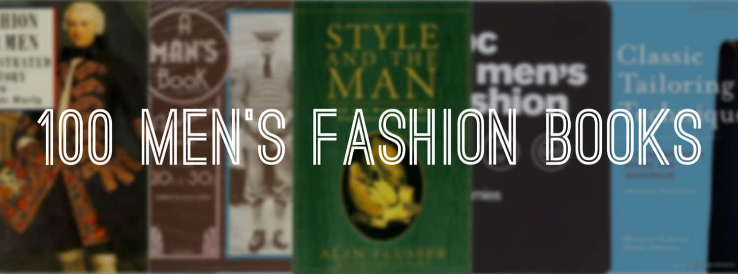 100 men's fashion books