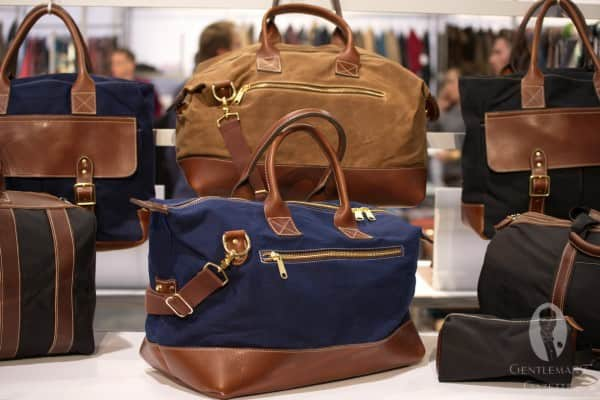 Blue Claw Co canvas holdall