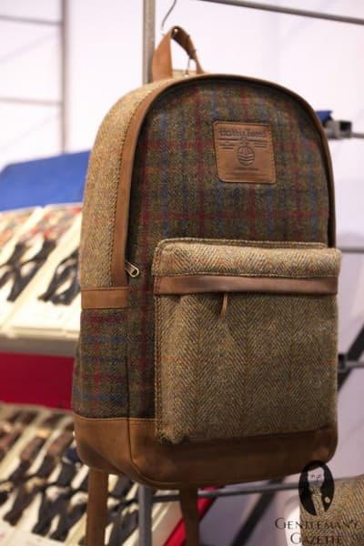 British Belt Company - Harris Tweed backpack