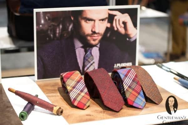 J. Ploenes ties made in Germany & China