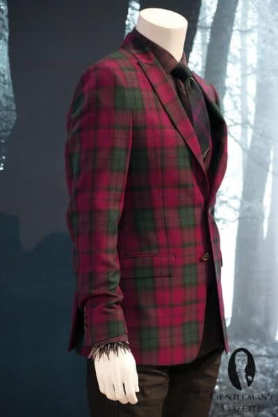 Mad Men era plaid jacket