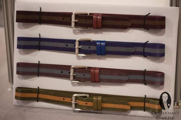 More colorful belts