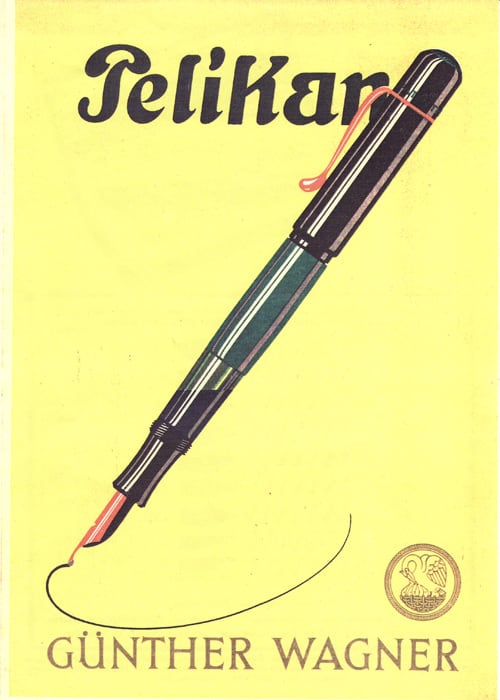 Pelikan Günther Wagner Ad