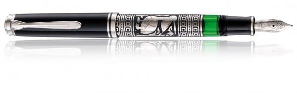 Pelikan Toledo M910 black silver