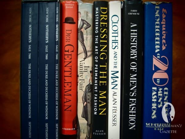 Selection of Men's Clothing Books