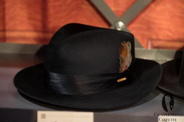 Stetson rabbit felt hat with silk finish