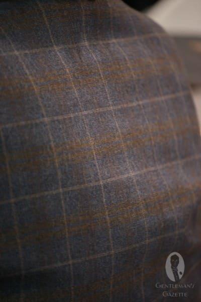 Vintage inspired plaid fabric