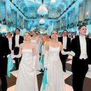White tie in Vienna means you wear indoor gloves
