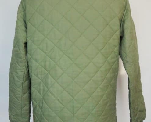 back view of a quilted Husky jacket