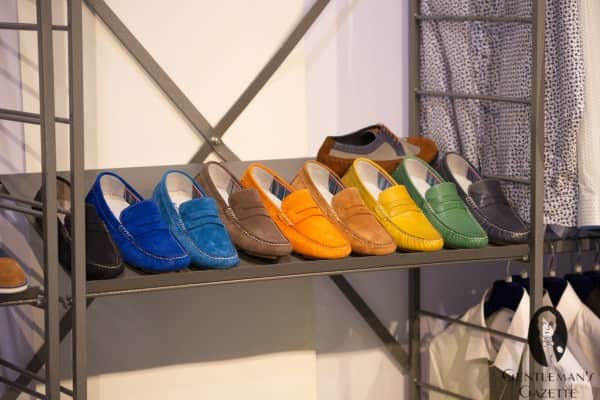 Colorful loafers
