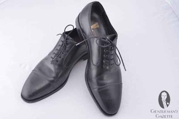 Andrew Lock Black Oxford Shoe