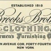 Brooks Brothers History