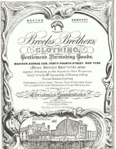 Brooks Brothers Invitation 1920