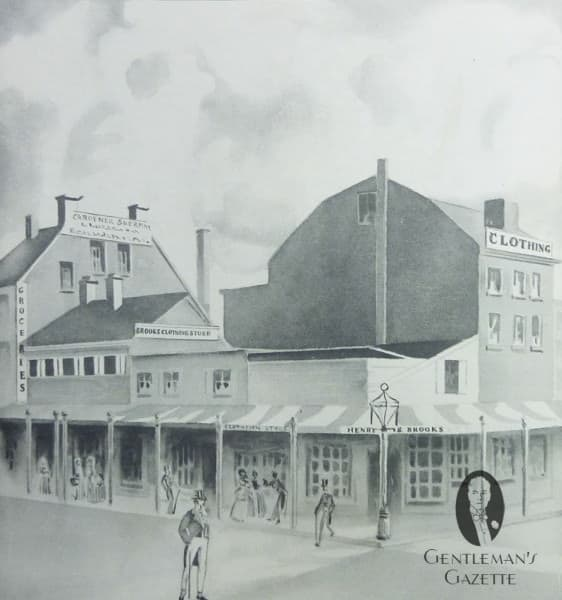 Brooks Brothers in 1818