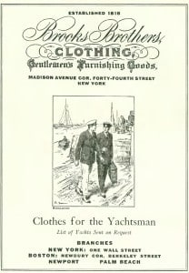 Brooks Yacht Clothing The New Yorker, Jul 25, 1931