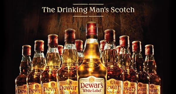 Dewars White Label Drinks
