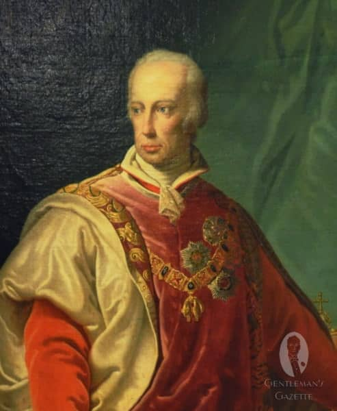 Franz II with the chain of the Order of the Golden Fleece