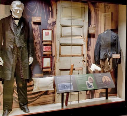 Lincoln's Brooks Brothers outfit he wore when he was assassinated in 1865