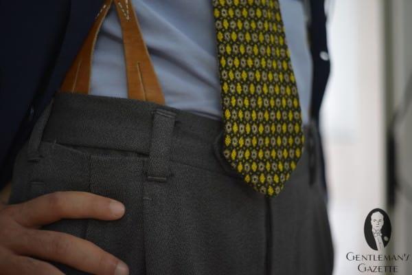 Very Neapolitan - suspenders & belt loops