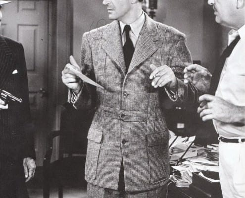 Basil Rathbone in Norfolk Suit