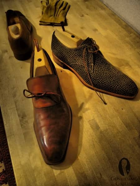Bespoke Shoes in Exotic Styles & Materials