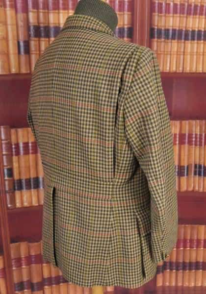 Bladen Half Norfolk Jacket Backview