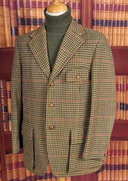 Bladen Half Norfolk Jacket Front