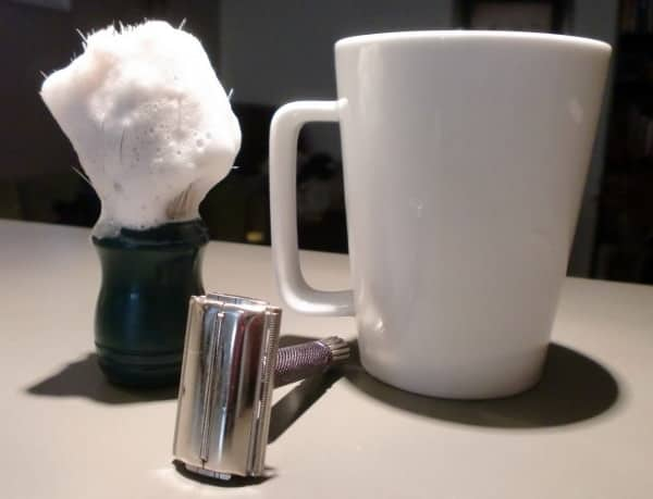 Brush, Mug and Safety Razor
