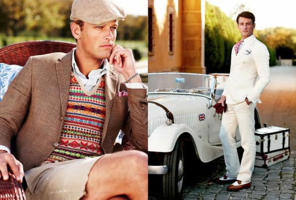 Fair Isle, Glencheck & all white suit