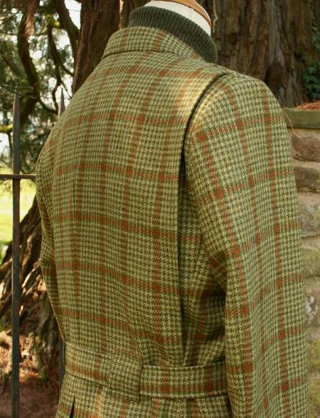 Full Norfolk Jacket with Action Pleats