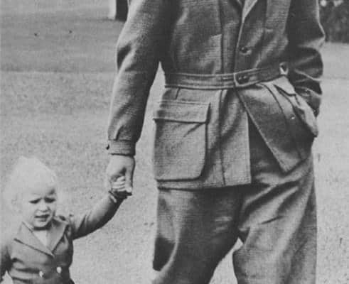Prince Philip in Norfolk Jacket in 1952