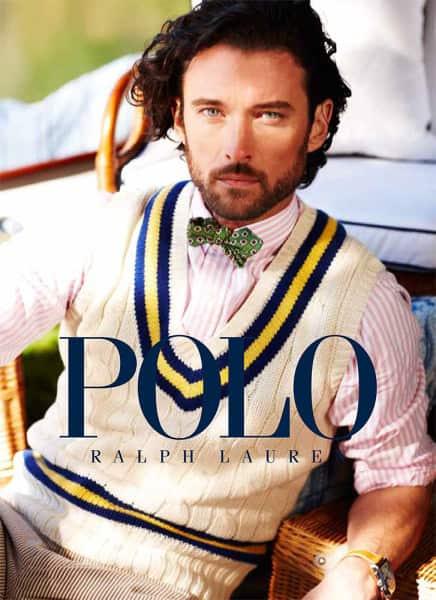 Sleeveless cricket sweater Polo Ralph Lauren 2013